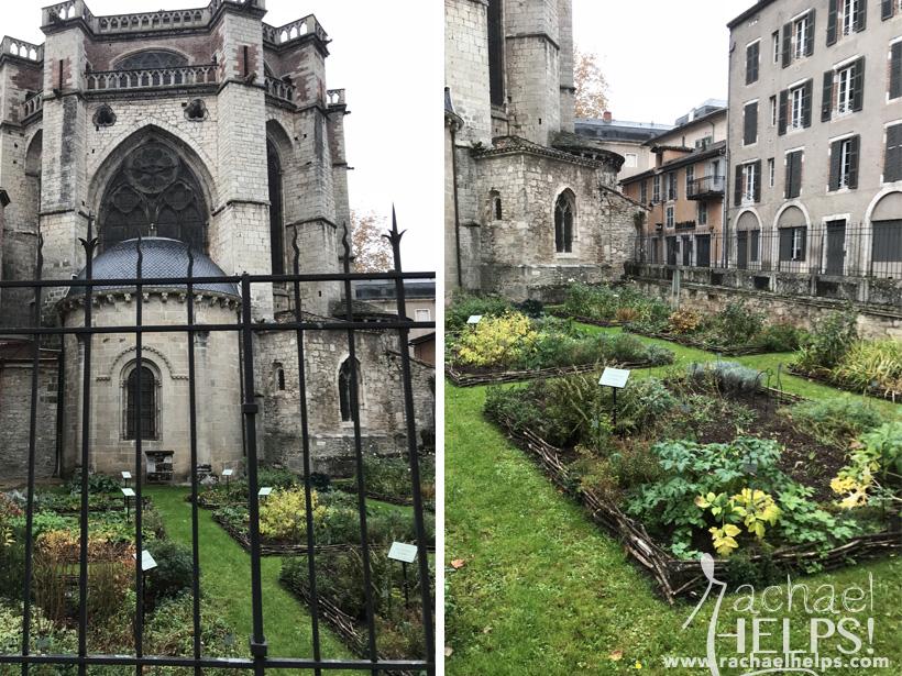 Cahors France Cathédrale, les Jardin Secrets