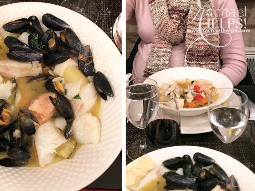 Le Bergougnoux restaurant Cahors France Fish Stew