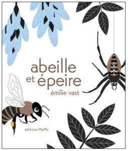 Bee and garden spider by Emile Vast