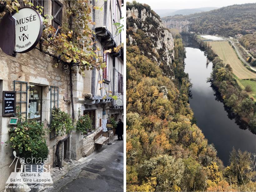 Saint-Cirq Lapopie France et musée du vin